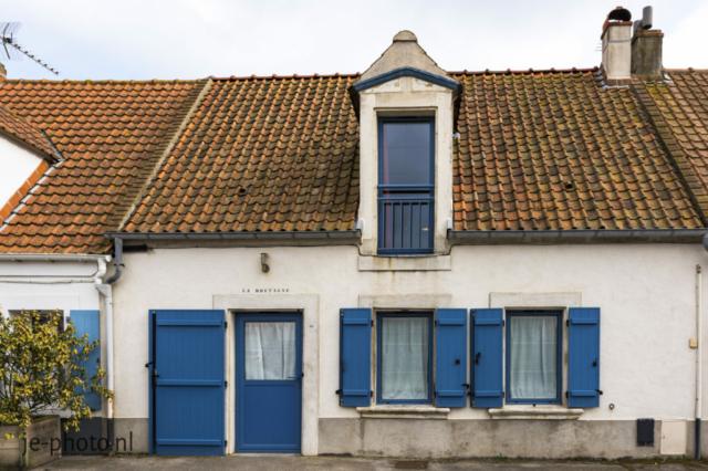"""ons huisje """"Le Bretange 36"""" rue Marin La Meslee Audresselles"""